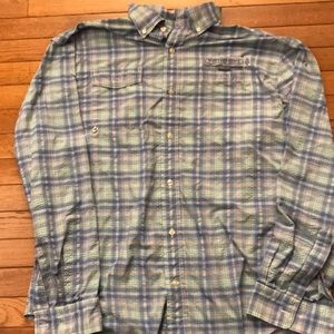 Vineyard Vines Men's Button Down Harbor Shirt, L